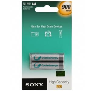 SONY NH-AAA-B2EN 900mAh Rechargeable Battery